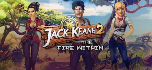 Cover zum Spiel Jack Keane 2 - The Fire within