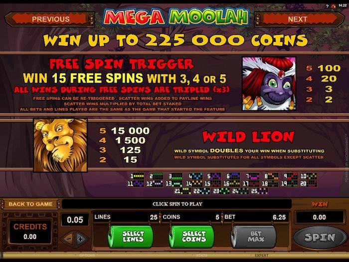 Die Funktionen und Features im Slot Mega Moolagh von Microgaming